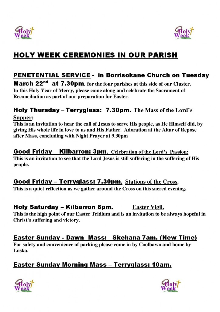 HOLY WEEK CEREMONIES IN OUR PARISH (1)-page-001
